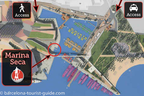 Barcelona Flyboard Club Location