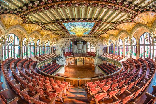 Palau de la musica catalana - Casas de musica en barcelona ...