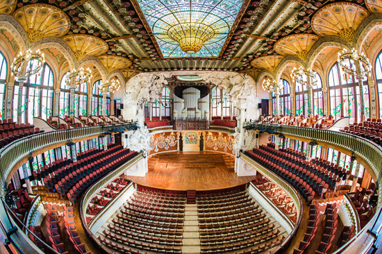Palau de La Musica music hall
