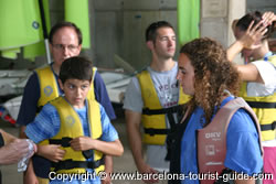 Our safety was always ensured we all had to have life jackets before entering the boats.