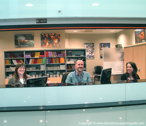 Esther, David and Anna - The friendly team at Tourist Information