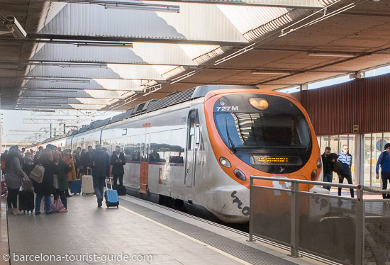 Barcelona Airport Train: R2 Nord RENFE Train Service To City