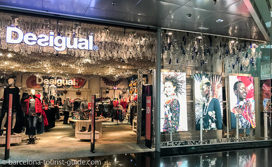 b73a7a16fe4 Shopping at Barcelona Airport Terminal 1 (T1)  Retail and Shops at ...
