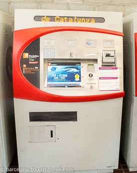 T-Casual ticket vending machine