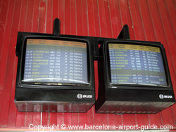 Departure Boards at the Train Station
