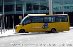 Long Stay Parking Shuttle Bus