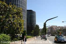 Les Corts is the Financial and Business Area in Barcelona