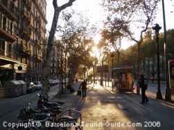 El Eixample Barrio Guide Barcelona - Barcelona map eixample district