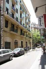 A Typical Street in Gràcia