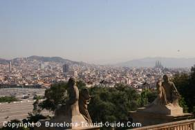Magnificient View of Barcelona from Montjuïc