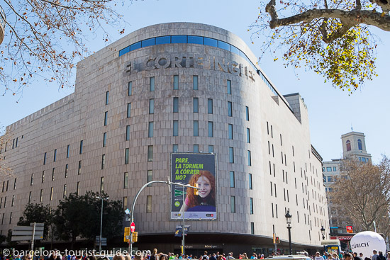 Hugo boss store location in barcelona spain - El corte ingles plaza cataluna barcelona ...