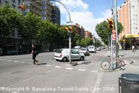 Poble Sec - Mainly a residential area but with very good transport links to the city centre