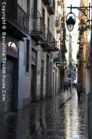 Picturesque Street in Raval
