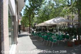 Café in Barcelon Sants Neighbourhood