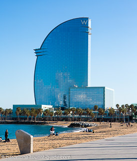 W hotel 5 star Luxury hotel in Barcelona