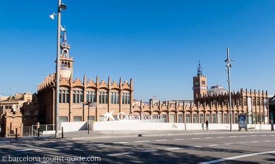Caixa forum in barcelona catalunya spain for Caixa d enginyers oficines barcelona