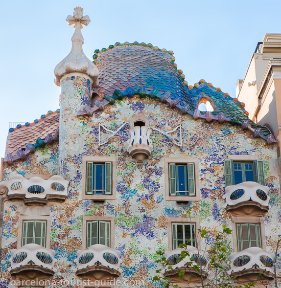 Gaudís Casa Batlló - Barcelona Photo Gallery