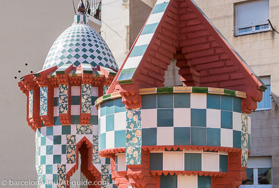 Casa Vicens chimneys