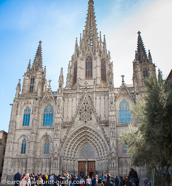 Colon Hotel is close to one of Barcelona's most famous sites the Cathedral