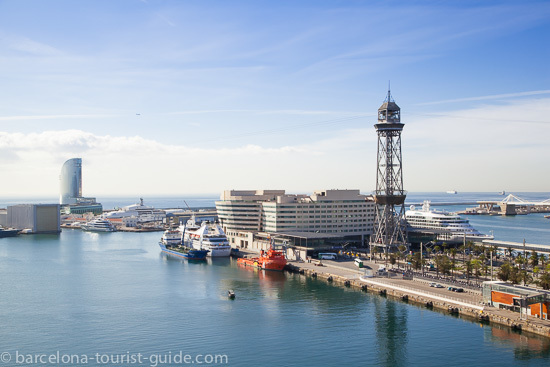 Edificio del World Trade Centre en el puerto de Barcelona