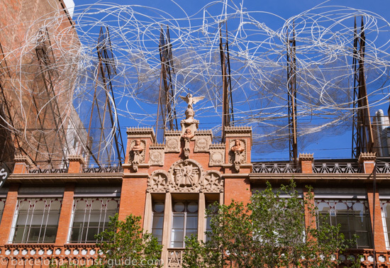 Fundacio Antoni Tapies Barcelona, Spain.