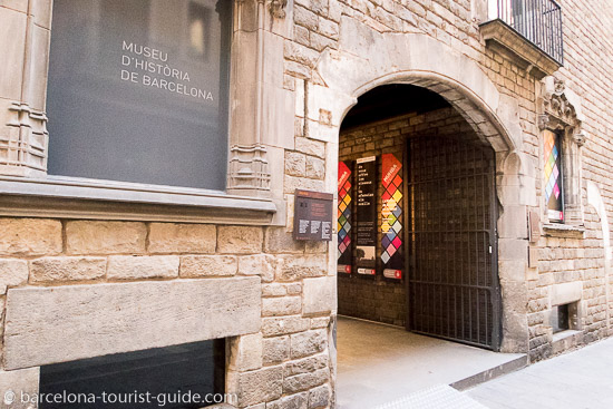 History Museum Barcelona, Spain.