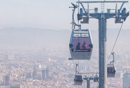 how to get to montjuic cable car