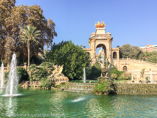 Family activities in Ciutadella Park
