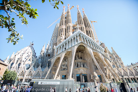 Barcelona's no.1 tourist attraction - la sagrada familia by antonio Gaudí