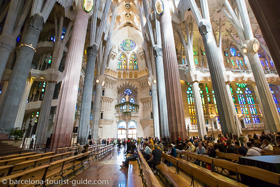 Opening Hours Of The Sagrada Familia Gaudi Basilica In Barcelona