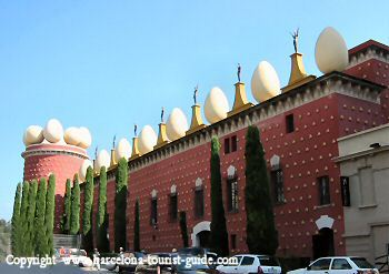 Picture of Dalí Musuem in Figueres near Barcelona