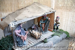Christmas traditions: Traditional Nativity Scene