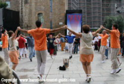La Merce Barcelona - Catalan Dancing