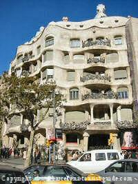 Museums in Barcelona - picture of antonio Gaudí la pedrera