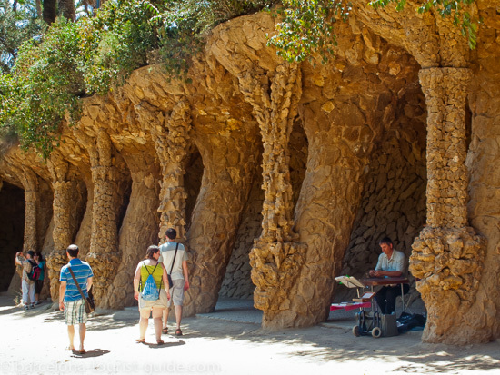 Colonnades at Park Guell