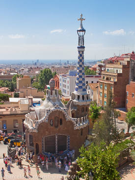 Park Güell - Gaudi's creation and a World Heritage Site in Barcelona