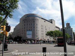 The Famous El Corte Inglés Building