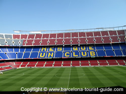 Camp Nou do Barcelona FC
