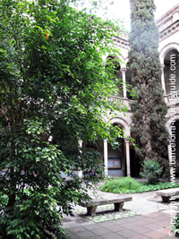 The University's Courtyard
