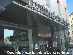 Confortel auditori hotel review by barcelona tourist guide - Hotel confortel auditori ...