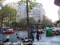 Area around Alexandra Hotel Barcellona