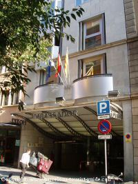 Main Entrance to Hotel Silken Ramblas Barcelona