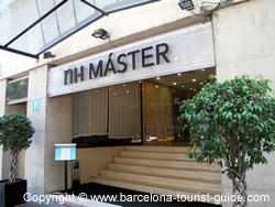 Hotel NH master Barcelona Entrance