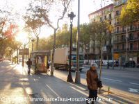 Dintorni dell'hotel Caleidonian a Barcellona