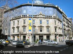 Claris hotel Barcelona main entrance