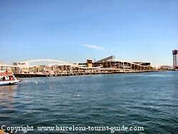Photo of port Vell close to the grand marina hotel barcelona