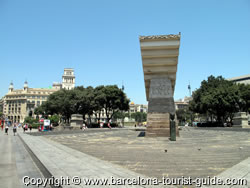 Area around Hotel Inglaterra Barcelona