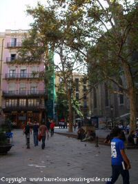 Area around Hotel Jardi Barcelona