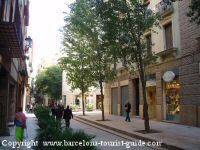 Area around Banys Orientals hotel Barcelona