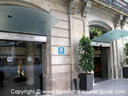 Nh podium hotel review by barcelona tourist guide - Hotel podium barcelona ...